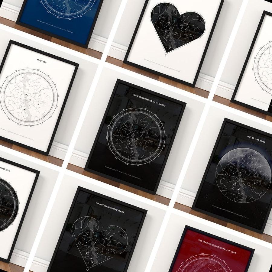 So many options to choose your space gift from!